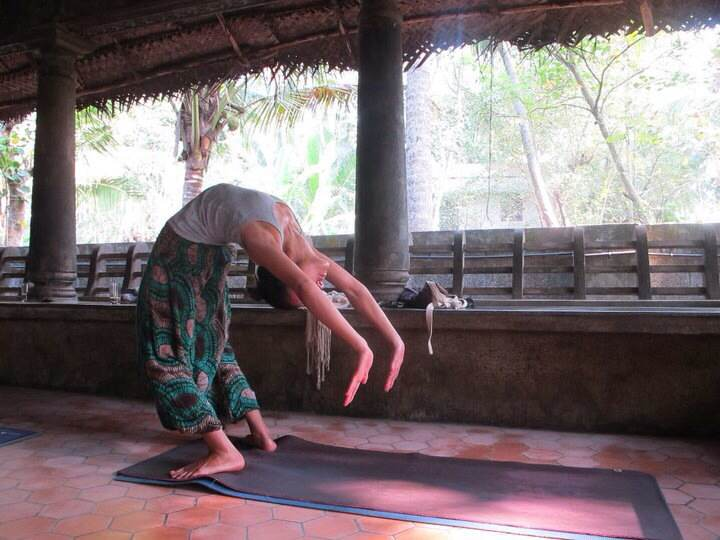Yoga in India by Angela Sykes