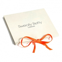 sweaty betty gift voucher