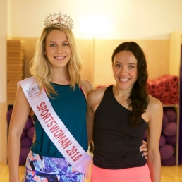 Pearl Miss England Winner and Angela Yoga Kula Founder