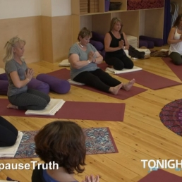 Yoga Kula on ITV Tonight