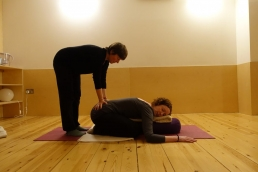 Interview with restorative yoga student