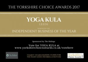Yorkshire Choice Awards Voting Banner