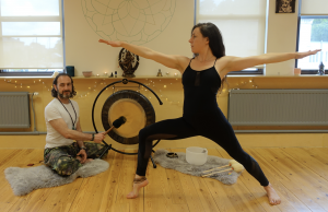 wave flow // sound bath  yoga kula  classes and